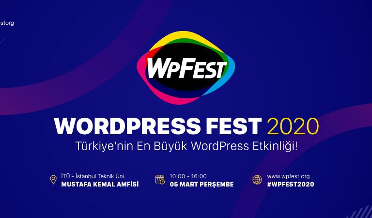 Türkiye'nin en büyük WordPress etkinliği WPFest için geri sayım başladı!
